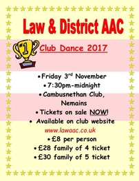 Club dance poster